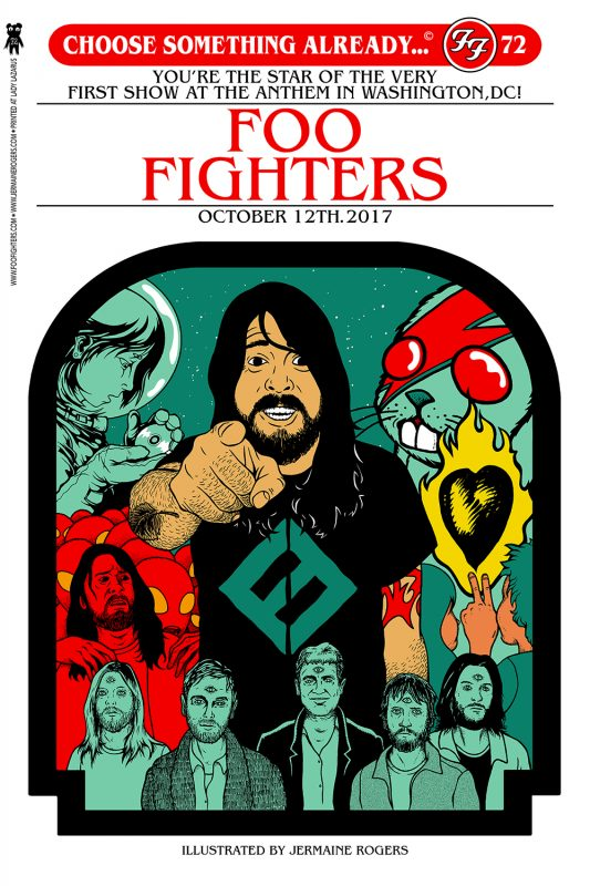 Foo Fighters Choose Your Own Adventure