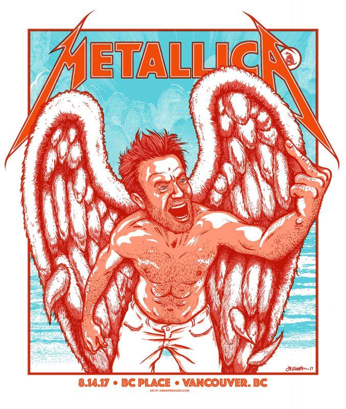 Metallica Vancouver 2017